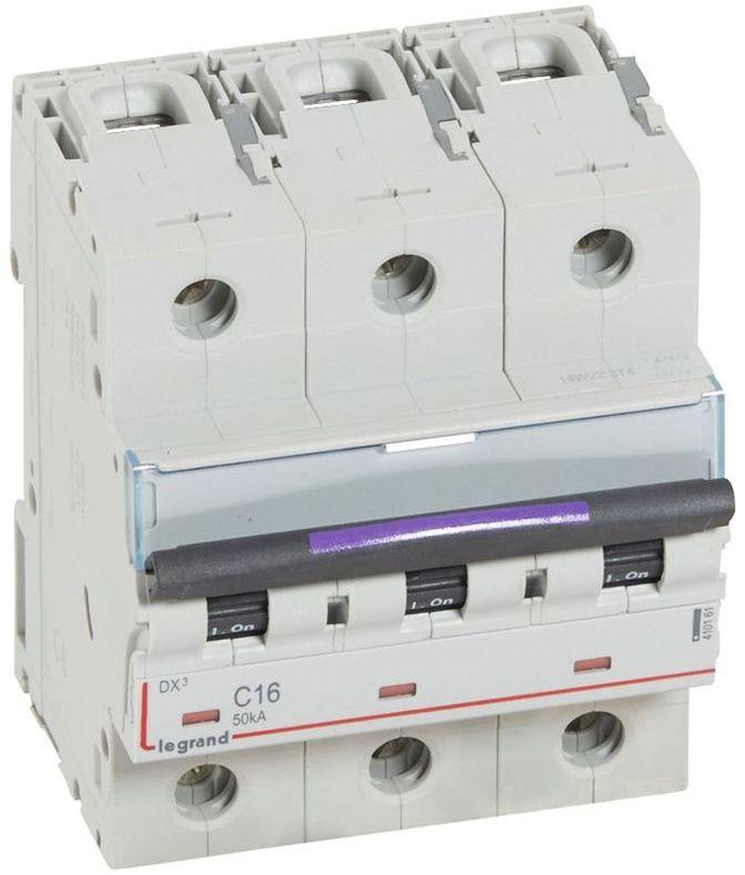 Wyłącznik nadprądowy 3P C 16A 50kA S323 DX3 410161