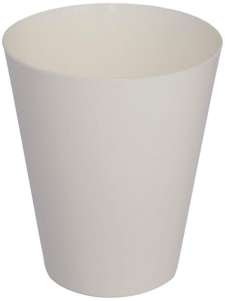 Osłonka do storczyka 12.7 cm plastikowa kremowa VULCANO