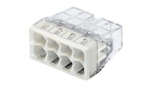 Szybkozłączka WAGO Compact 8 x 0,5-2,5 mm2 transparentna