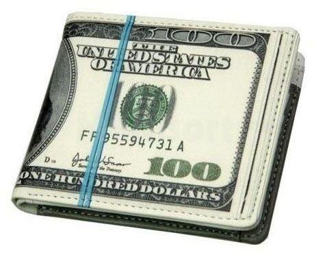 Portfel 100 dolarów