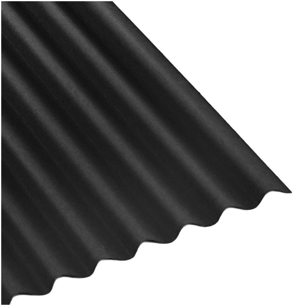 Płyta bitumiczna BASE Czarna 1.4 m2 ONDULINE