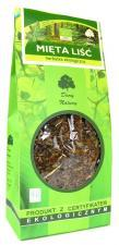 Herbatka LIŚĆ MIĘTY BIO 100g Dary Natury