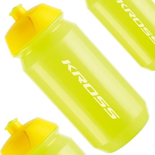 Bidon 0,5L KROSS PURE żółty