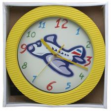 Zegar ścienny kolor samolot