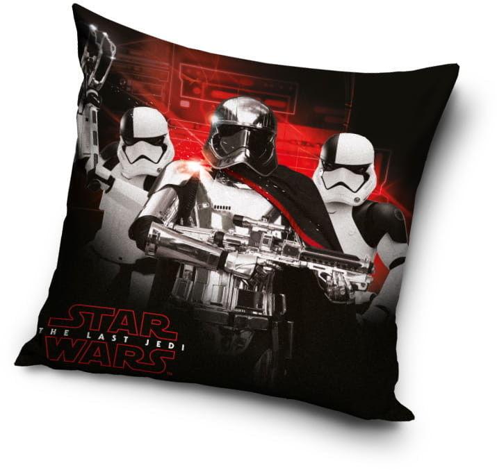 Poduszka dla chłopca - jasiek GWIEZDNE WOJNY (Star Wars) 40x40cm