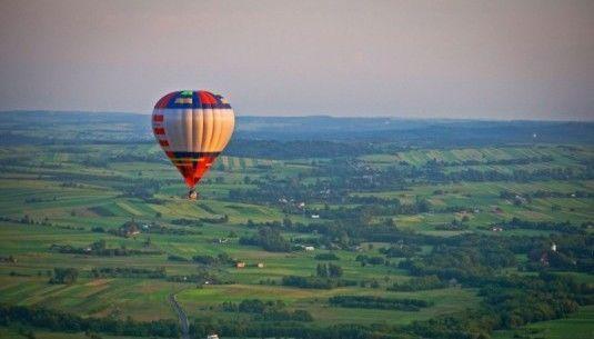 Lot balonem - Bielsko Biała
