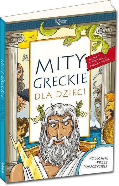 Mity greckie dla dzieci - Lucyna Szary