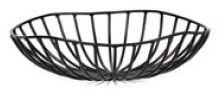Kosz metalowy CATU czarny śr. 20 cm