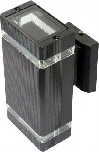 Kinkiet, lampa ogrodowa VELA 2 x GU10 IP54 - czarny