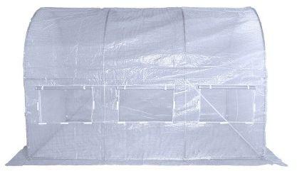 Tunel foliowy 200 cm x 350 cm (7,0 m2) biały