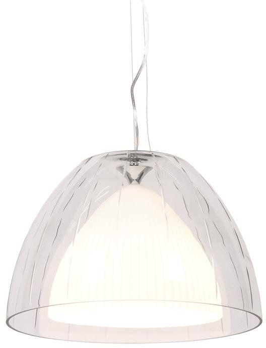 Lumina Deco Arvilla D40 biała lampa wisząca