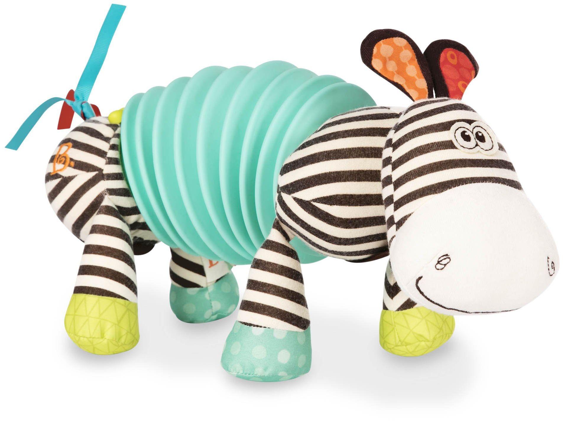 B. toys akordeon z zabawką dla niemowląt z instrumentem dźwiękowym, zabawka motoryczna  pluszowe zwierzątko dla dzieci od 6 miesięcy