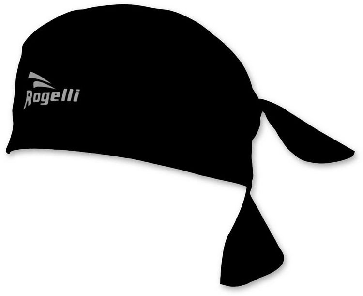 ROGELLI 009.001 SS18 bandana chusta czarna,8717849090148