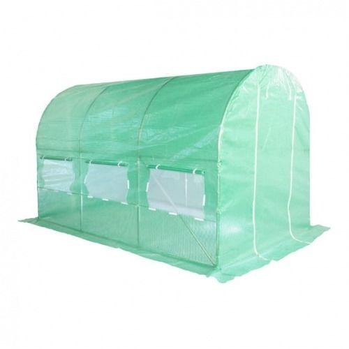 Tunel foliowy 200 cm x 350 cm (7,0 m2) zielony