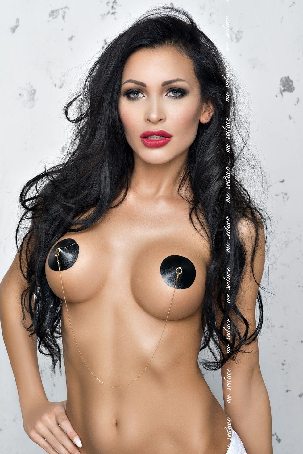 Me Seduce NC017 Nipple Covers Black
