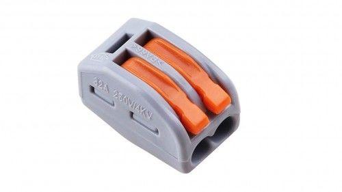 Szybkozłączka WAGO uniwersalna 2 x 0,08-4 mm2 z dźwigniami zwalniającymi