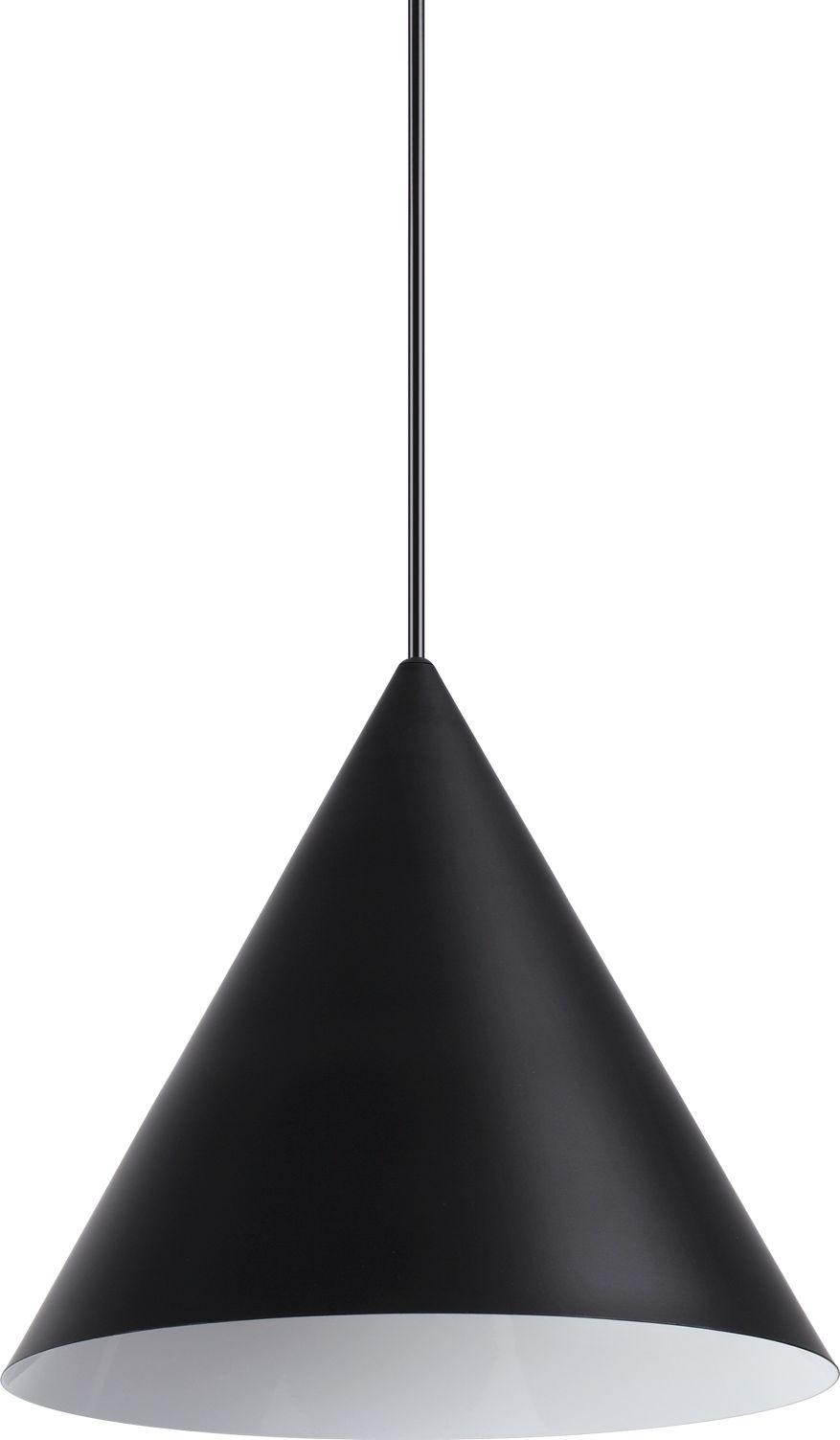 Lampa wisząca 232744 Ideal Lux pojedyńcza oprawa świetlna w kolorze czarnym