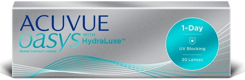 Acuvue Oasys 1-Day HydraLuxe, 30 szt.