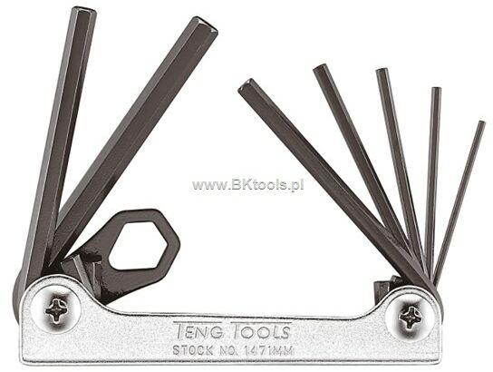 Klucze trzpieniowe - zestaw imbusów 1.5-6mm 231810102 1471MM