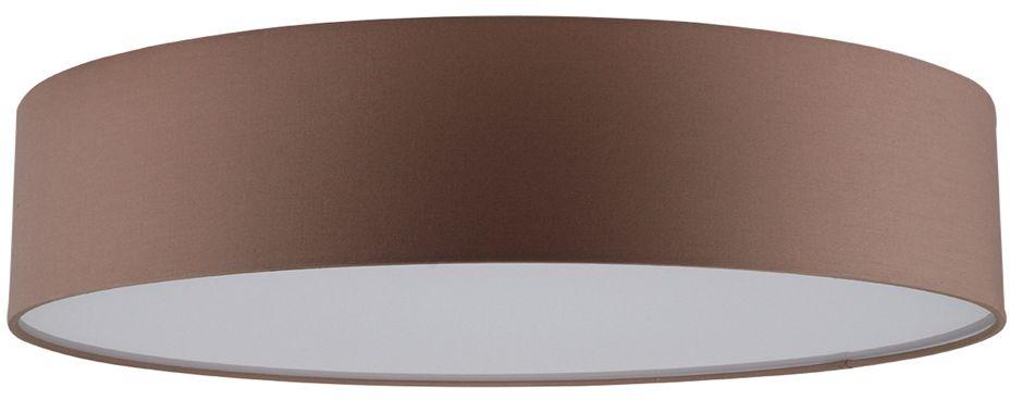 Spot Light 4794812 Josefina plafon lampa sufitowa abażur tkanina brązowy/biały 4xE27 25W IP20 48cm