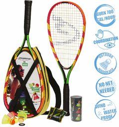 Speedminton S600 Zestaw do Gry Crossminton / Speed Badminton, Wielokolorowy