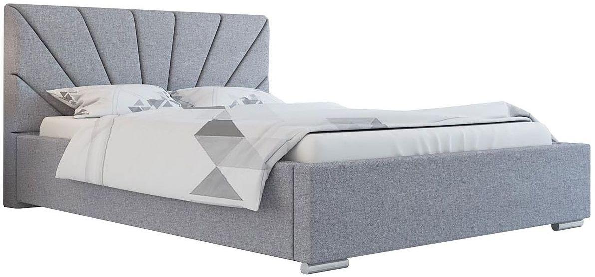 Pojedyncze łóżko tapicerowane 90x200 Rayon 2X - 48 kolorów
