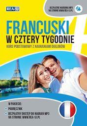 Francuski w cztery tygodnie ZAKŁADKA DO KSIĄŻEK GRATIS DO KAŻDEGO ZAMÓWIENIA