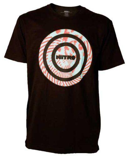 Nitro snowboardowa męska koszulka Manipulation S/S, czarna, M