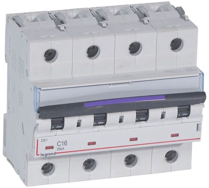 Wyłącznik nadprądowy 4P C 16A 50kA S324 DX3 410174