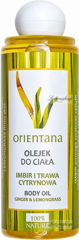 ORIENTANA - BODY OIL - GINGER & LEMONGRASS - Olejek do ciała - Imbir i trawa cytrynowa - 210 ml