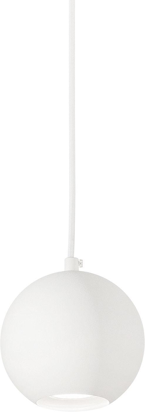 Lampa wisząca Mr Jack SP1 Small 231228 Ideal Lux pojedyńcza oprawa świetlna w kolorze białym