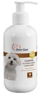 Over Zoo Szampon dla Psów o Białej i Jasnej Sierści 250 ml