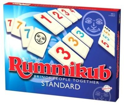 Rummikub 2w1 Junior + Standard
