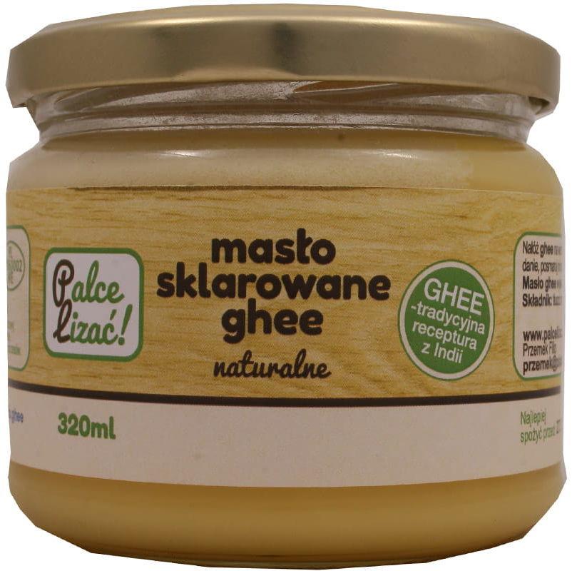 Masło ghee 320ml naturalne Palce lizać