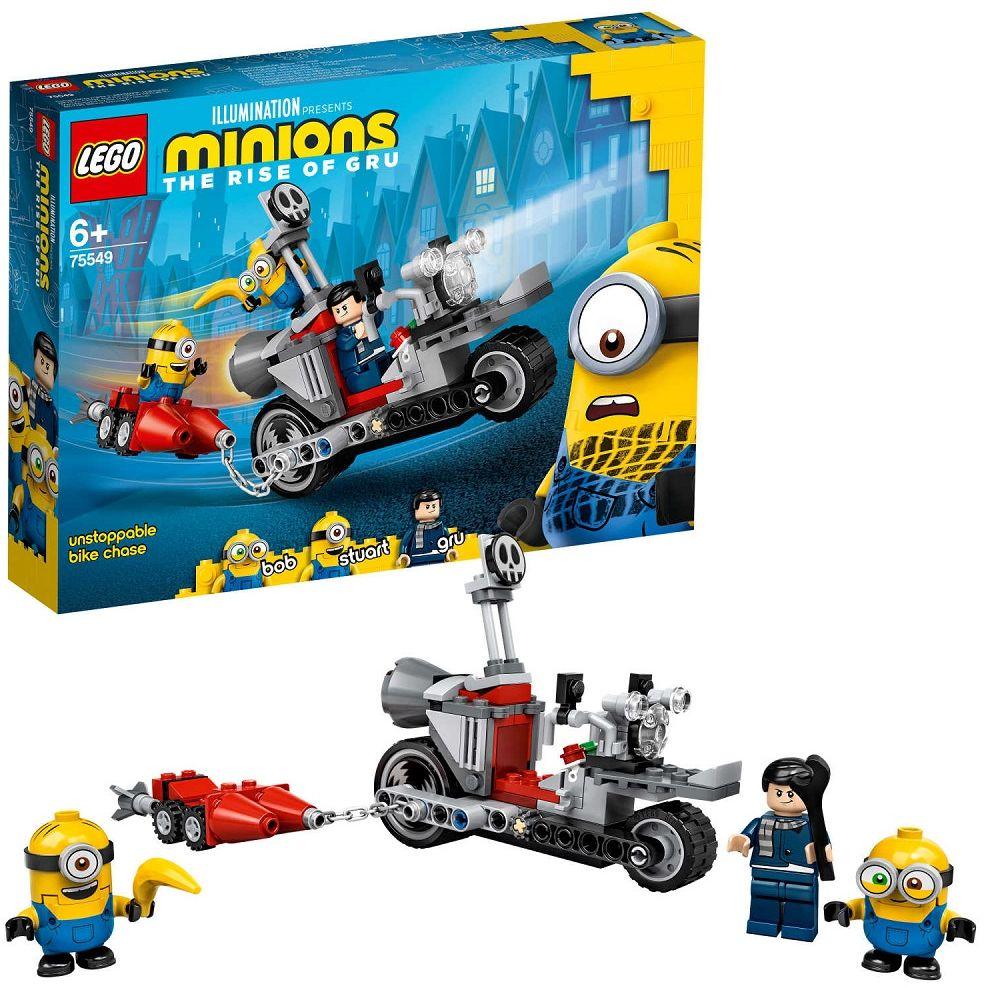 Klocki Lego 75549 Minions Niepowstrzymany Motocykl