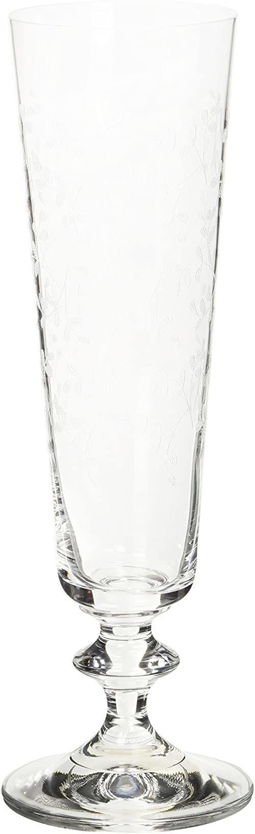 "Bohemia Cristal 093 006 045 kieliszki do szampana ok. 205 ml ze szkła kryształowego zestaw 6 sztuk ""Provence"""