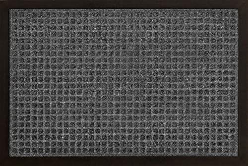 ID Matt 4060 02 AusAusCarre dywan wycieraczka włókno polipropylenowe/guma szara 60 x 40 x 1 cm