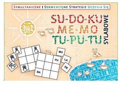 Symultaniczne i sekwencyjne strategie uczenia się 3w1 SU-DO-KU, ME-MO, TU-PU-TU - SYLABOWE