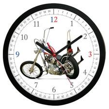 Zegar ścienny Czas na motocykl #1