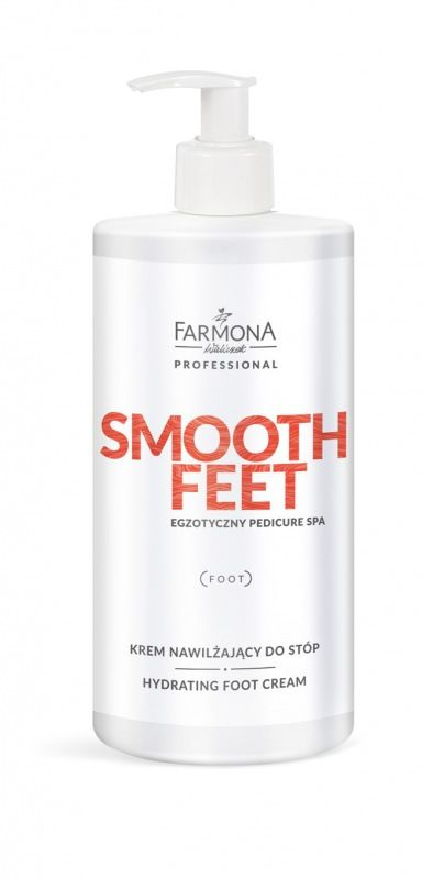 SMOOTH FEET Nawilżąjacy krem do stóp 500ml