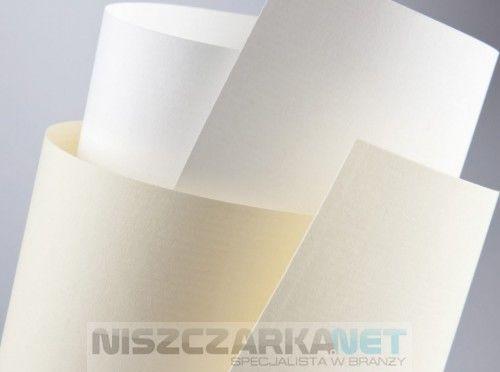 Papier Ozdobny 120g/m2 - LAID KREMOWY - 50 arkuszy A4