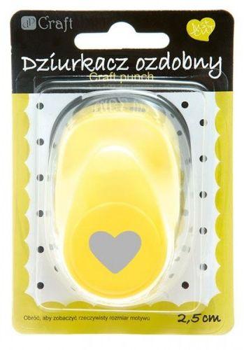 """Dziurkacz ozdobny DALPRINT """"Serce"""" 2,5cm JCDZ-110 / 023"""