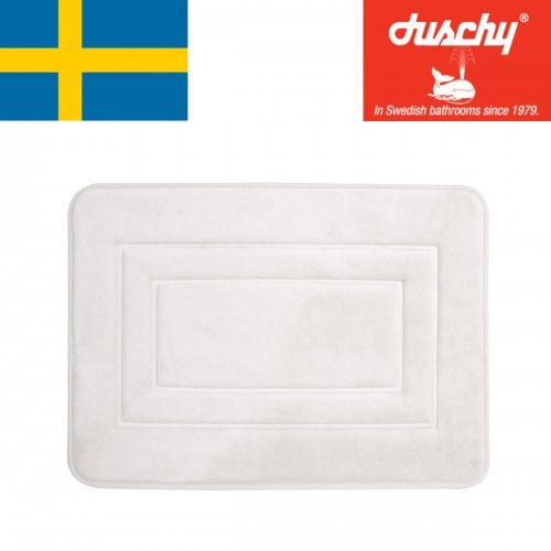 Dywanik łazienkowy Biały, 40x60cm Duschy