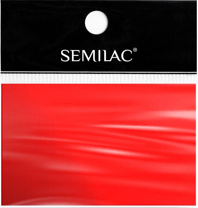 SEMILAC Folia transferowa 04 RED czerwona