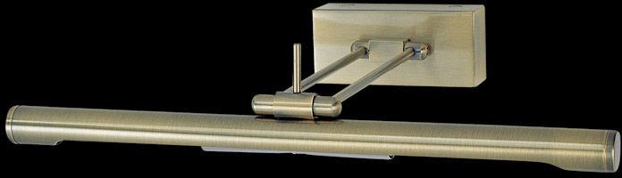 Italux kinkiet lampa ścienna Technic 966-2 antique brass metalowa