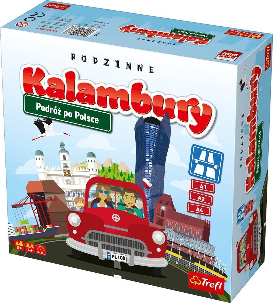 Trefl - Gra Kalambury Podróże po Polsce 01683
