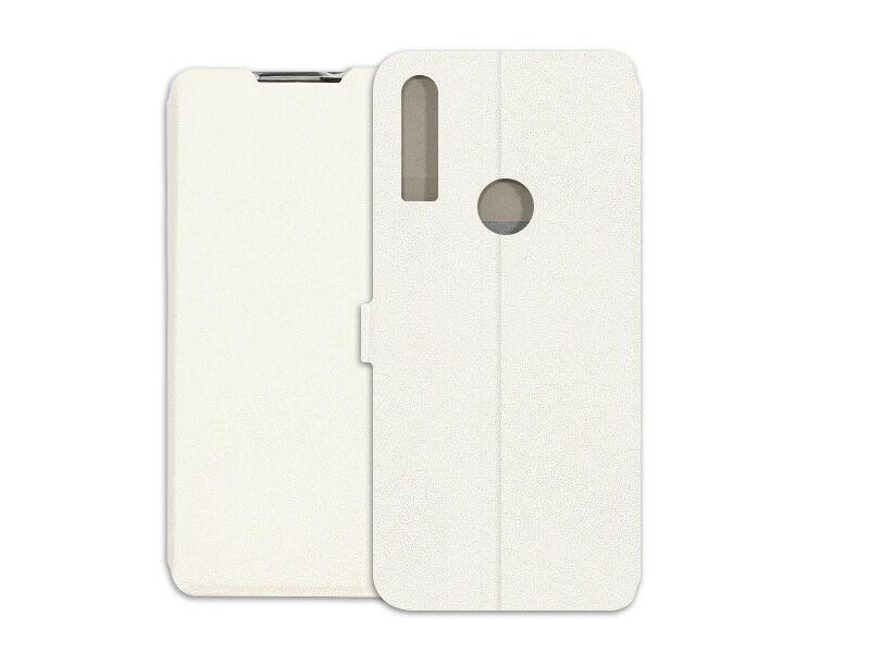 Alcatel 3X (2019) - etui na telefon Wallet Book - biały