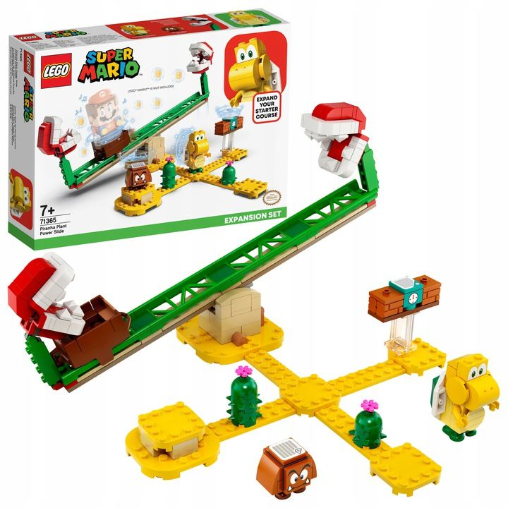 Klocki Lego 71365 Super Mario Zjeżdżalnia Piranha