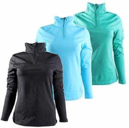 McKINLEY damska koszulka Cypress, czarna, 44