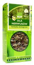Herbatka DLA NERWUSÓW BIO 50 g Dary Natury